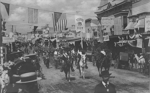 4th of July in 1900